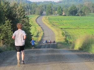 6 am Ridge Run the final day