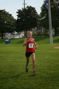 Helen Dempster hammers home at Taylor Creek 5K XC Race