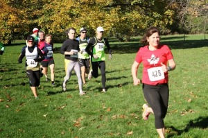 Tina Steele competes in Sunnybrook 8K XC Race