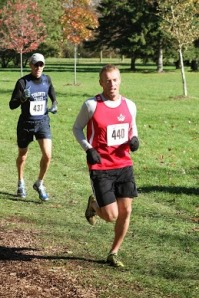 Roger Penney at Sunnybrook 8k XC Race