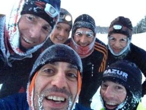 MARSians post selfie after workout in -30C this morning