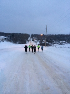 Intrepid Tuesday Morning Runners