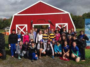 Hoyas at the Muskoka Mud Run