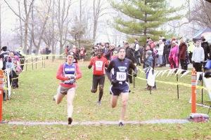 Jess at finish