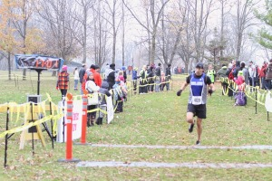 Troy at finish