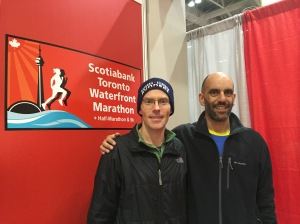 Chris and Pierre at Marathon Expo