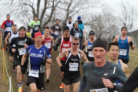 Mark Sinnige early race