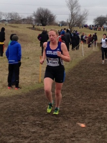 Mary Unsworth in the Senior Women's Race